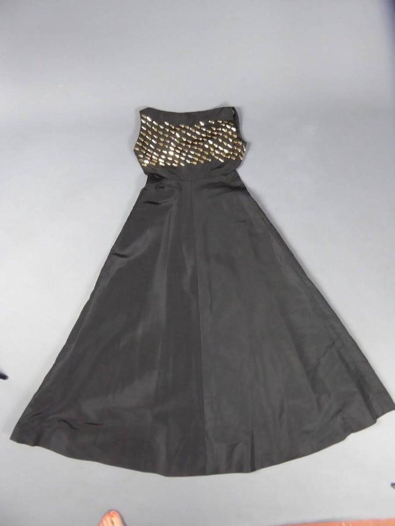 Jeanne Lanvin Haute Couture Dress, 1960 For Sale 7