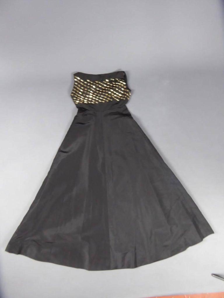 Jeanne Lanvin Haute Couture Dress, 1960 For Sale 9