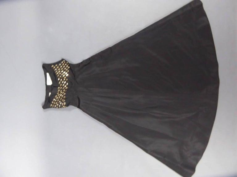 Jeanne Lanvin Haute Couture Dress, 1960 For Sale 11