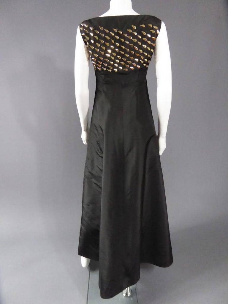 Jeanne Lanvin Haute Couture Dress, 1960 For Sale 1