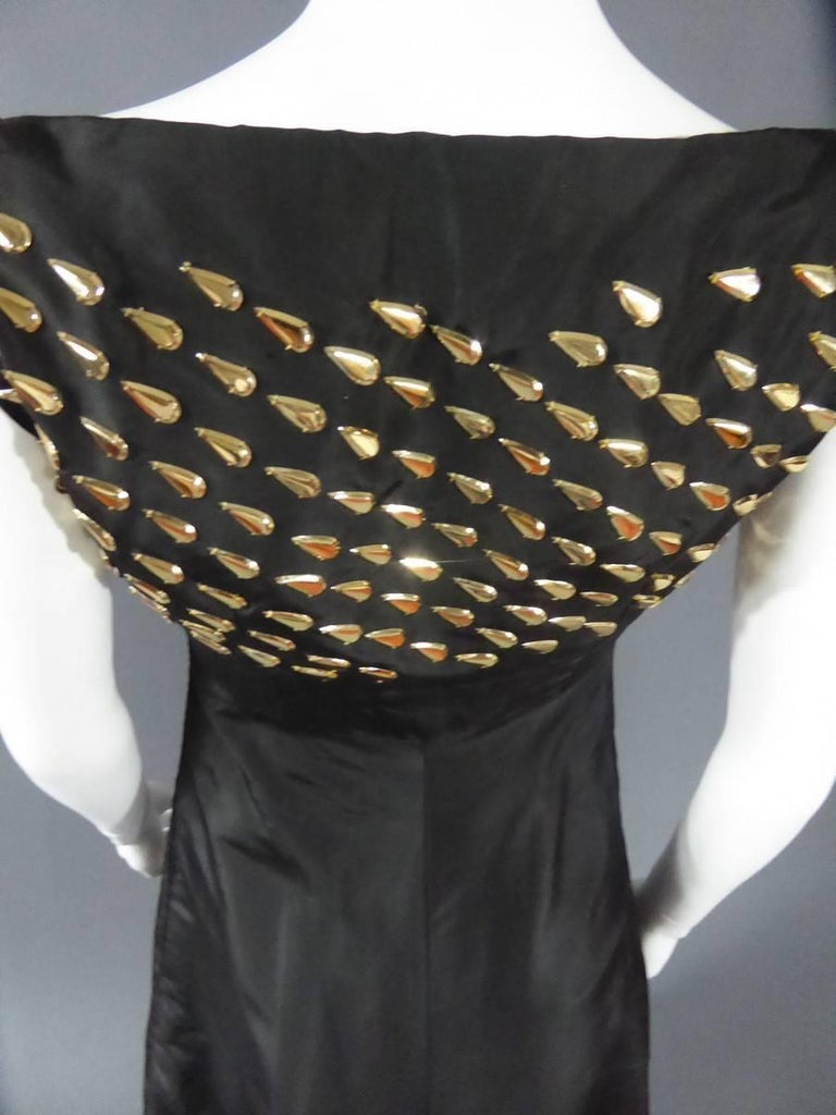 Jeanne Lanvin Haute Couture Dress, 1960 For Sale 2