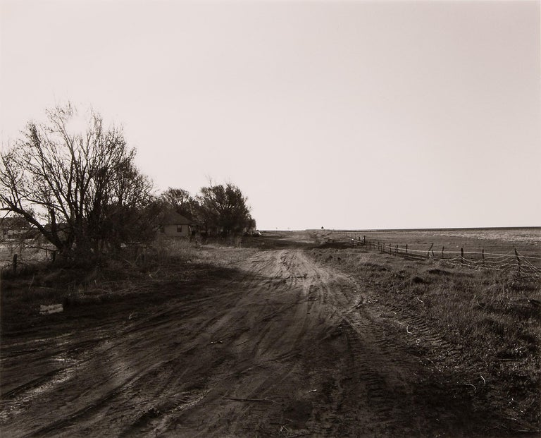 Edge of Briggsdale, Colorado, 1983 (From the 'Missouri West' series) - Photograph by Robert Adams