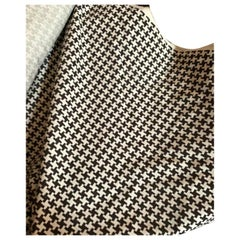 Robert Allen Wool Textile Fabric Hand Tailored Mink 225918, Houndstooth