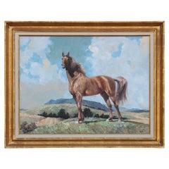 Horse Portrait Landscape