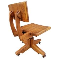 Robert and Joanne Herzog California Studio Craft Swivel Chair
