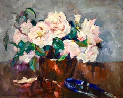 Fleurs - Post Impressionist Fauvist Oil, Still Life of Flowers by Robert Pinchon