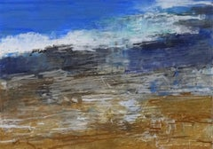 Cape Elizabeth, Abstract Expressionist Oil Pastel