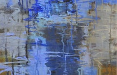 Shallows, Abstract Expressionist Oil Painting