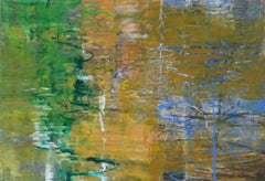 Silt, Abstract Expressionist Oil Pastel