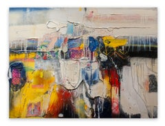 Milbrook in Yellow (Abstract painting)