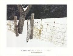 2000 After Robert Bateman 'Maple Leaf Fence' Offset Lithograph