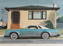 Robert Bechtle 'Albany Monte Carlo' Signed Limited Edition Print