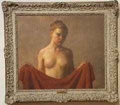 "Robert Brackman, American 1898-1980 ""The Muse"" Oil on canvas"