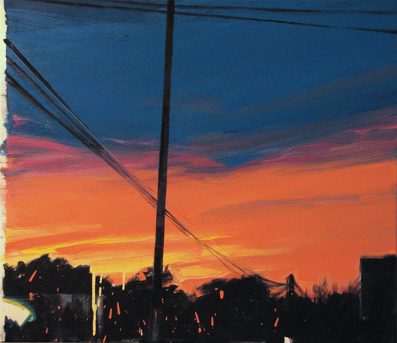 Milestones - Expressive Contemporary Figurative Oil Painting, Realism, Landscape