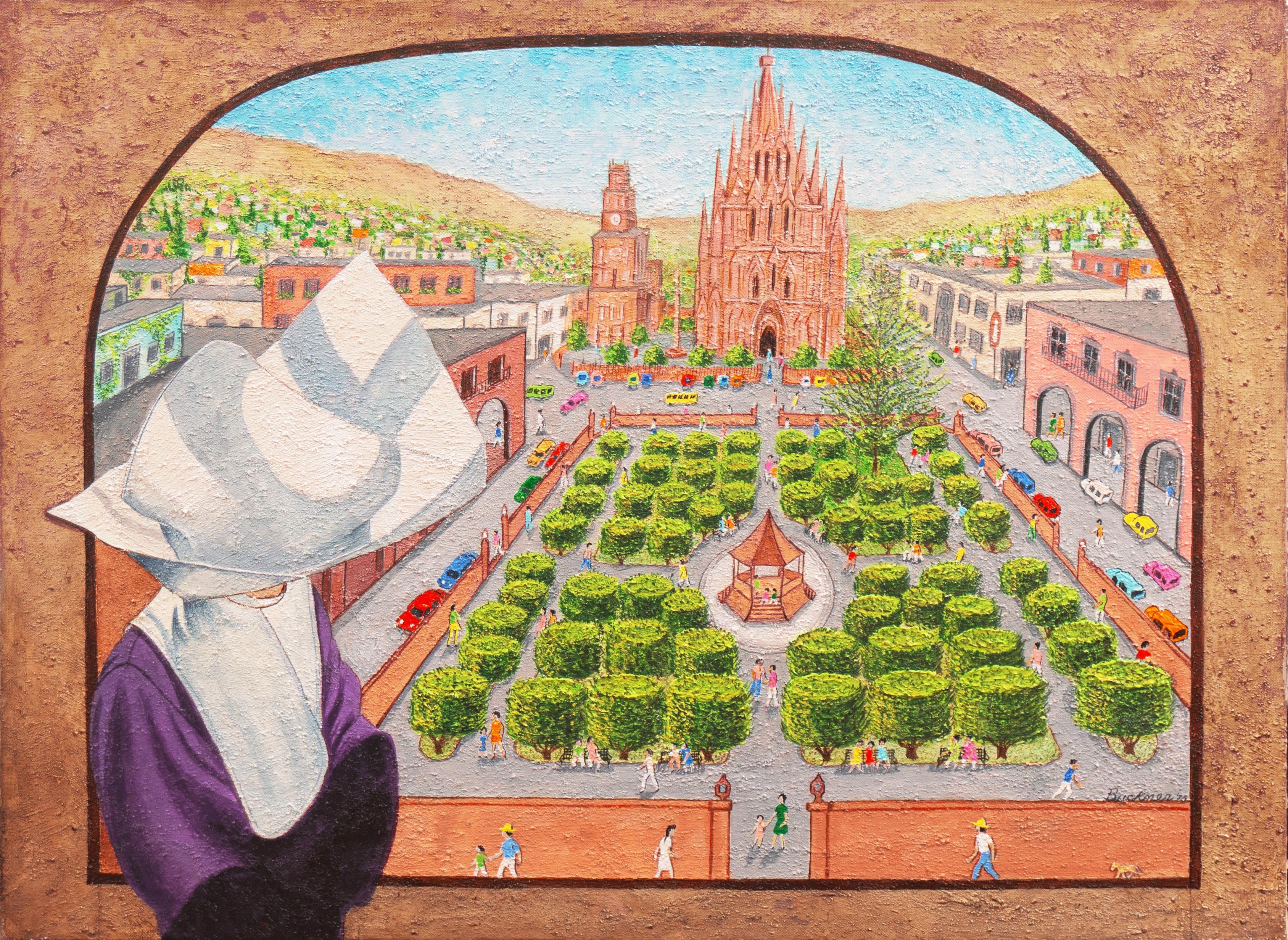 'La Santa Escuela de Cristo, San Miguel de Allende', Cathedral, Cloistered Nun