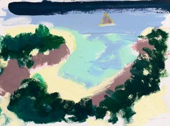 'Carmel Cove, Monterey', California Expressionist, Stanford