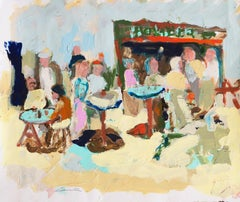 'Fish Market, Cannery Row, Monterey', California Expressionist, Stanford, Carmel