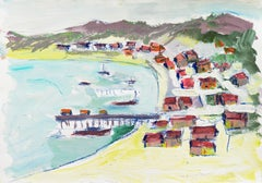 'Fishermen's Shacks, Monterey', California Expressionist, Stanford, Carmel