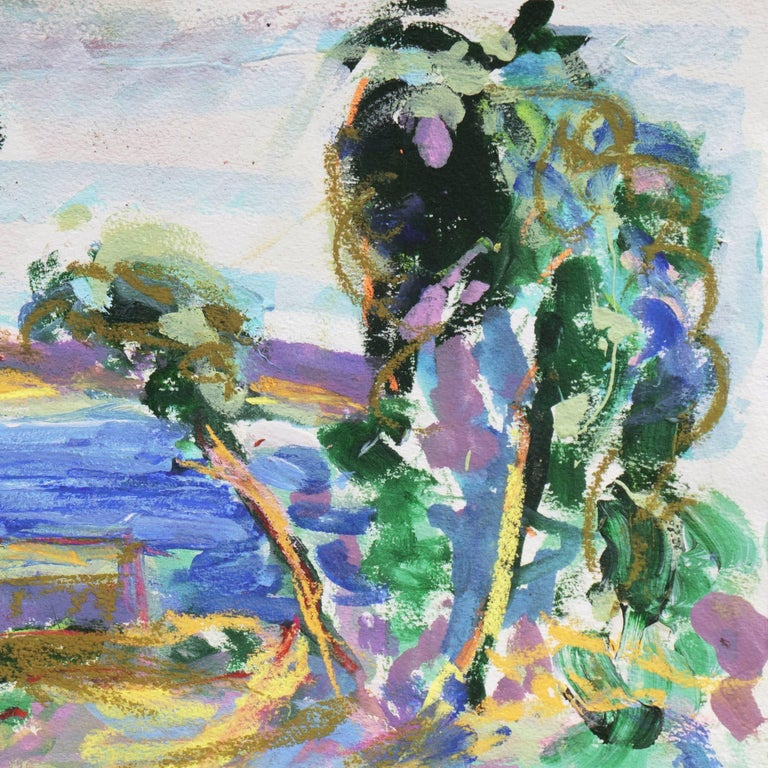 'Fishermen's Shacks, Monterey', Carmel, California Expressionist, Stanford For Sale 1