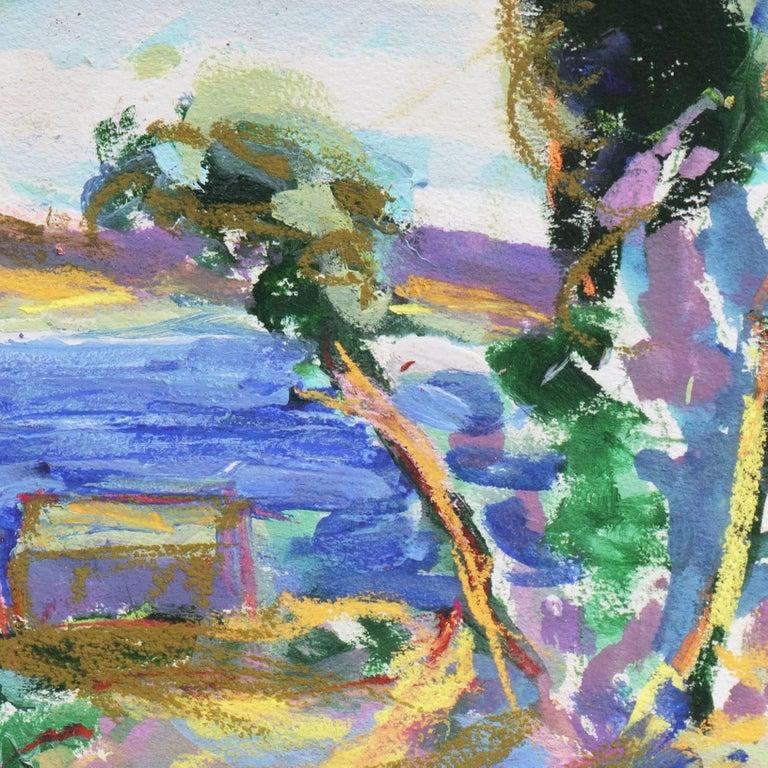 'Fishermen's Shacks, Monterey', Carmel, California Expressionist, Stanford For Sale 2
