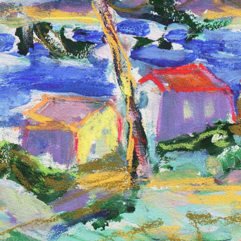 'Fishermen's Shacks, Monterey', Carmel, California Expressionist, Stanford For Sale 3
