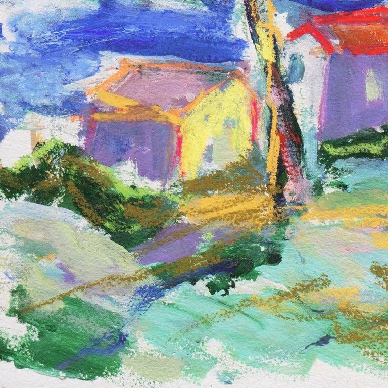 'Fishermen's Shacks, Monterey', Carmel, California Expressionist, Stanford For Sale 4