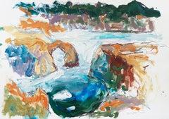 'Natural Bridges, Carmel', California Expressionist, Stanford, Carmel