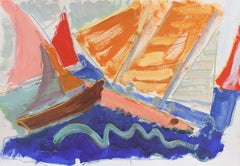 'Sailing off Monterey', California Expressionist, Stanford, Carmel