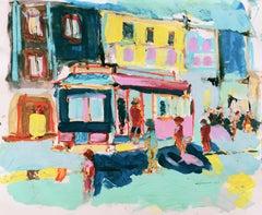 'San Francisco Trolley Car' Bay Area, California Expressionist, Stanford, Carmel