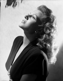 Rita Hayworth Stunning Glamour Portrait Movie Star News Fine Art Print