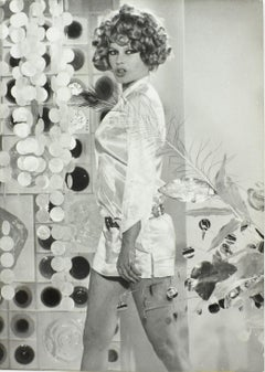Brigitte Bardot - Robert Cohen for AGIP Silver Gelatin Black & White Photograph