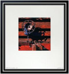 Robert Cottingham Aquatint Etching Original Hand Signed Rolling Stock Modern Art