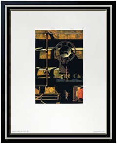 Robert Cottingham Authentic, Hand Signed and Numbered Lithograph, Professionally