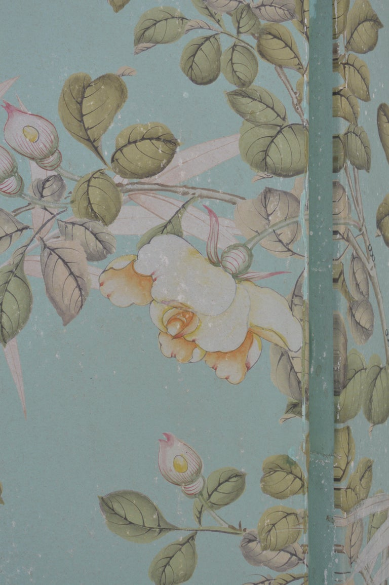Robert Crowder Screen with Silver Leafing Details For Sale 6
