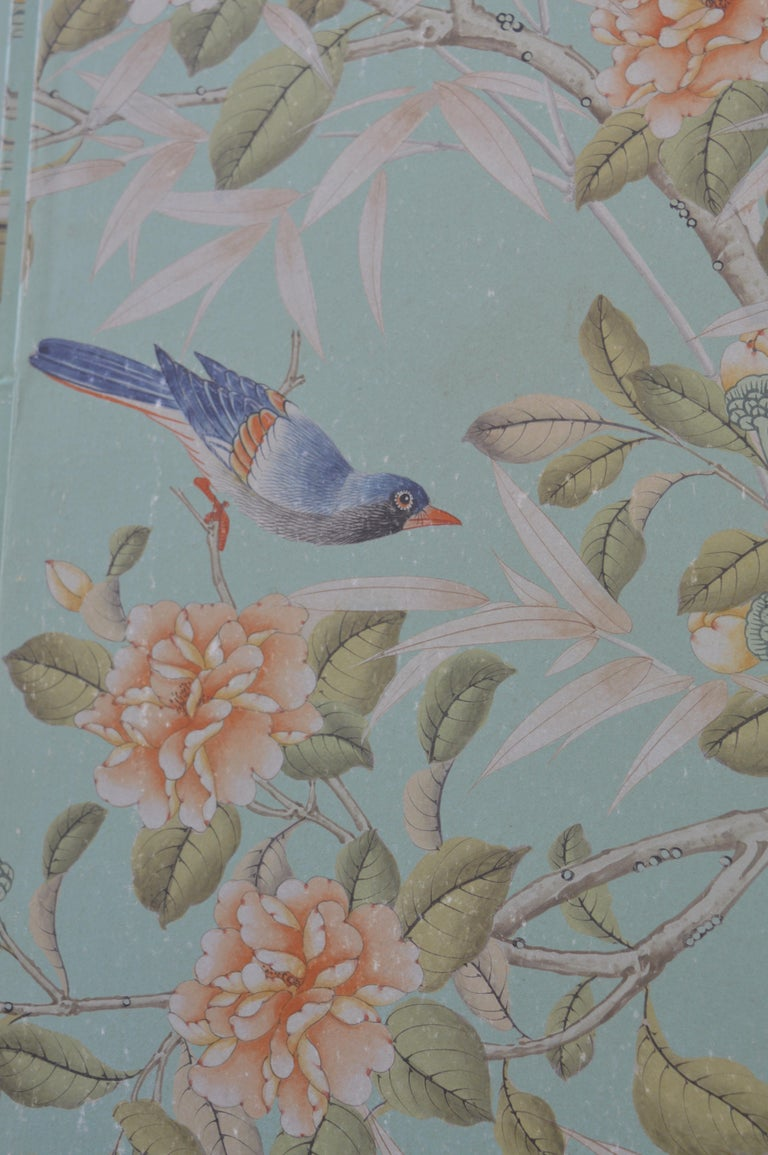 Robert Crowder Screen with Silver Leafing Details For Sale 1