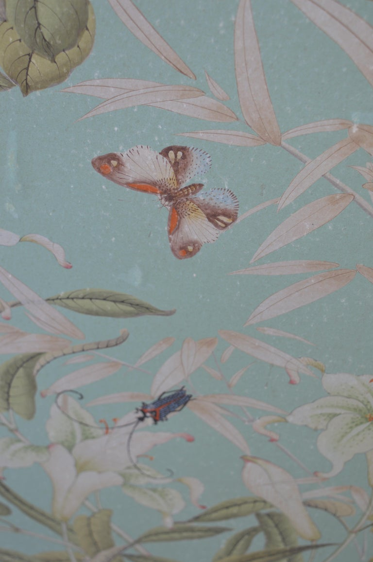 Robert Crowder Screen with Silver Leafing Details For Sale 2