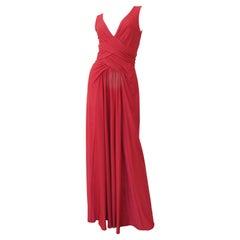 Robert David Morton 1970s Maxi Dress