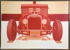 """""""East is Neat"""", Automobile Chromograph by Robert D. H. Bidner"""