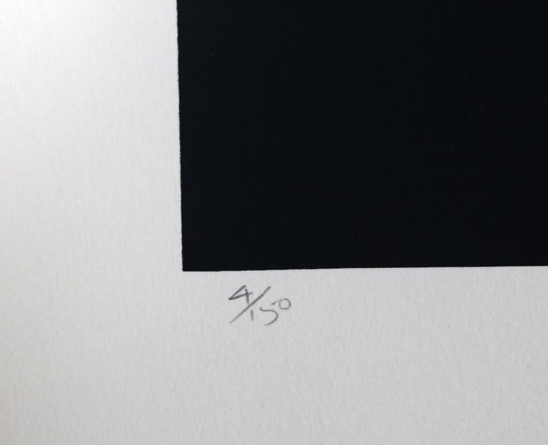 Abstract Serigraph III by Robert Einbeck For Sale 1