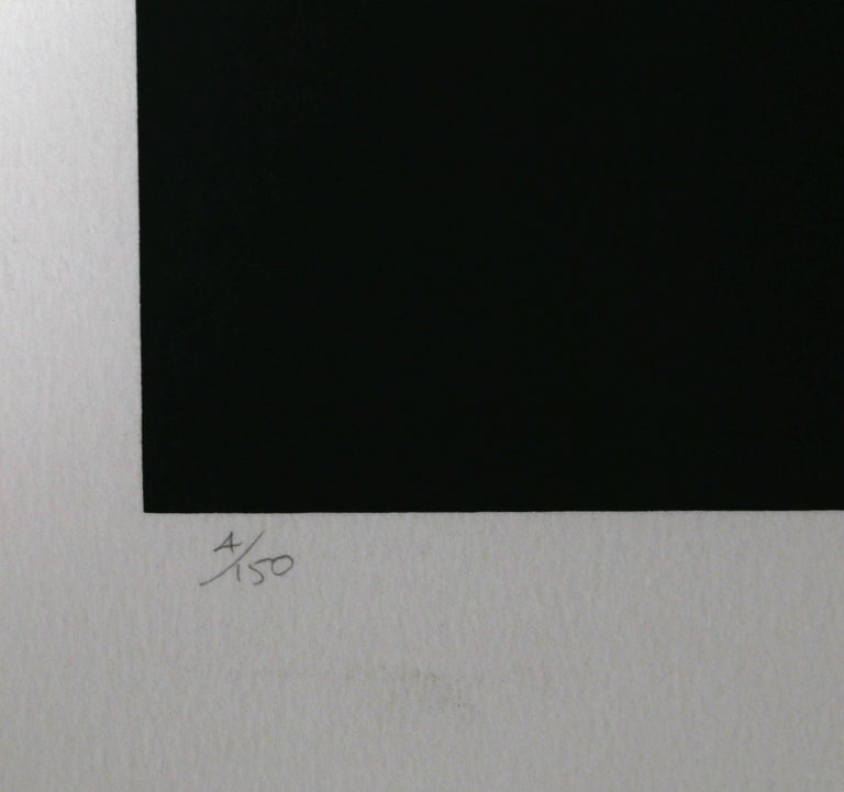 Abstract Serigraph V by Robert Einbeck For Sale 1