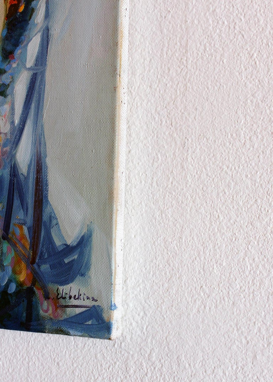Robert Elibekyan , Robert Elibekian, Title:  Maral,  oil on canvas, 20x16 in, year 2005