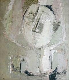 Portrait. 1975, oil on plywood, 32x27,5 cm