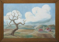 Country Landscape by Robert Fabian Butts