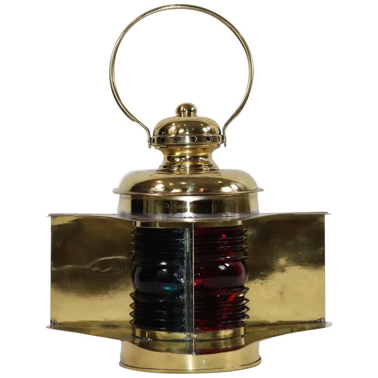Robert Findlay Marine Lantern from Bow For Sale