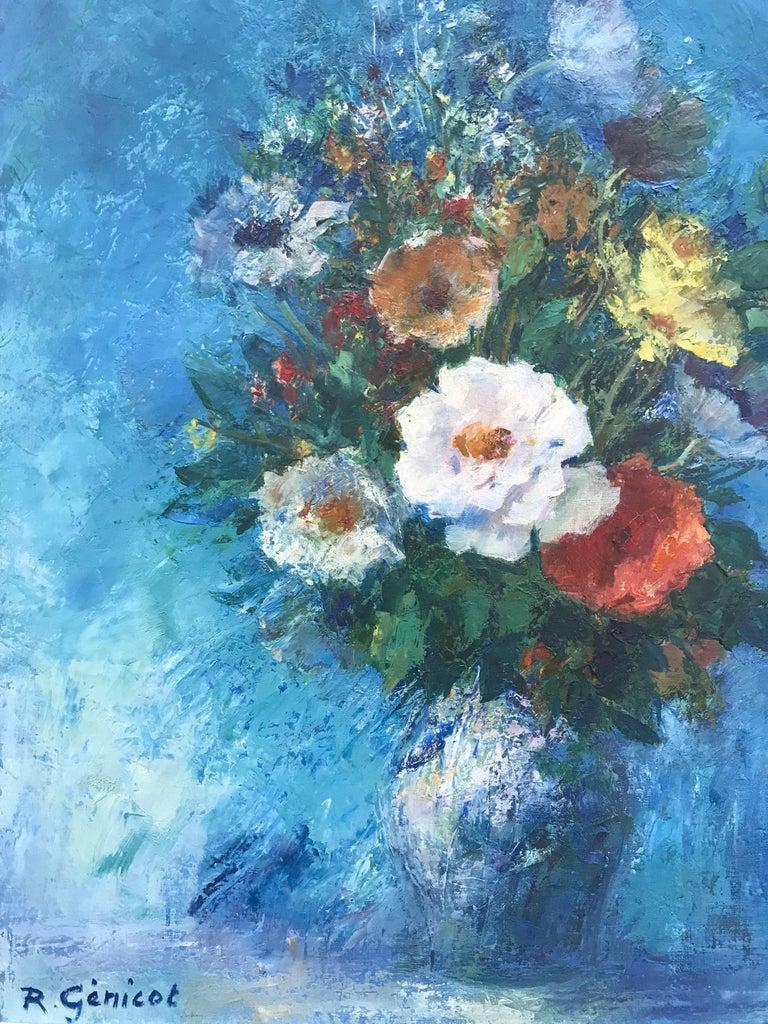 """""""Fleur Bleue"""" For Sale 1"""