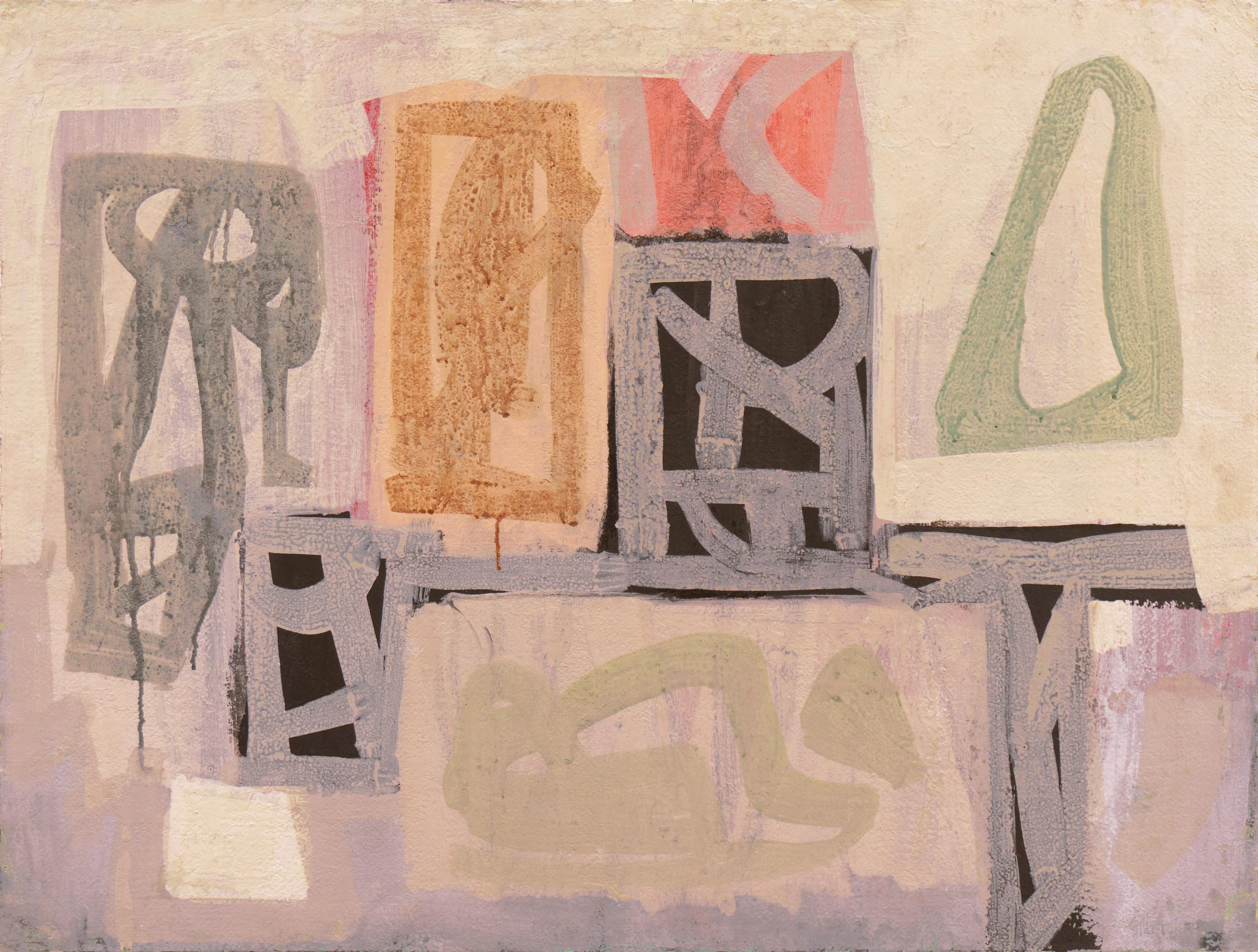 'Forms in Charcoal and Jade', San Francisco Bay Area Abstraction, SFMFA, CWS