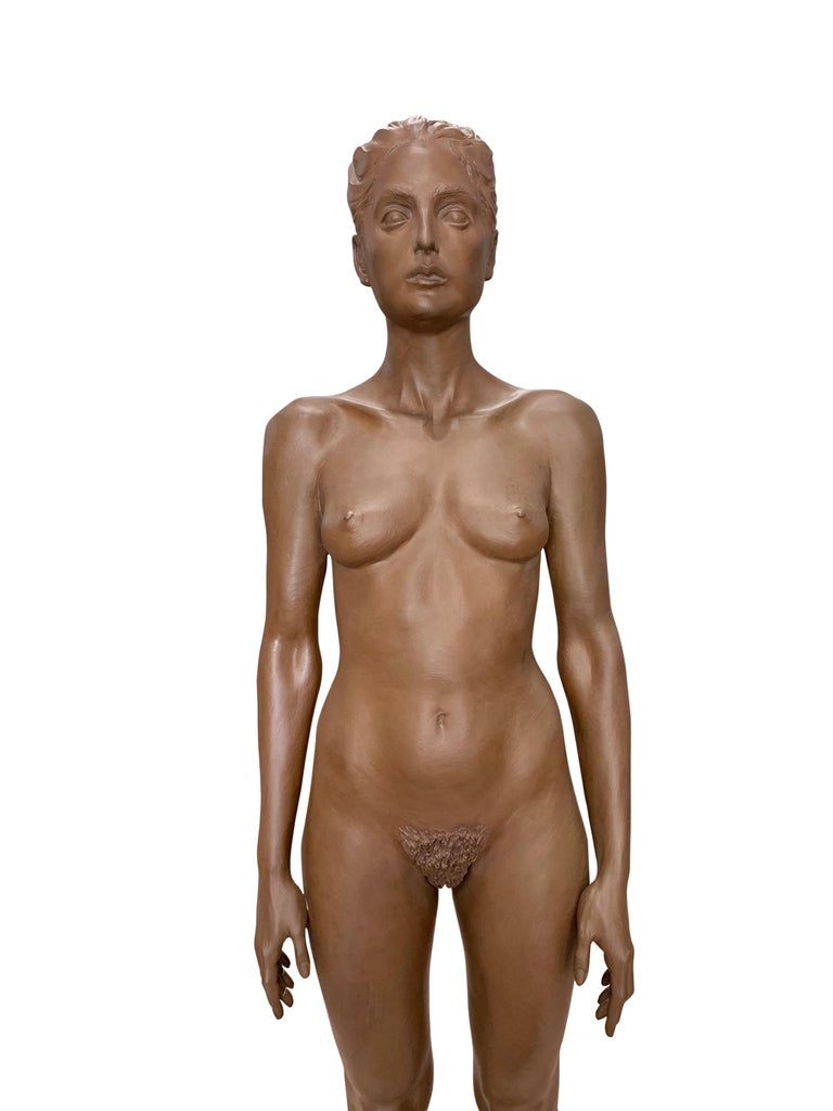 Large Robert Graham Bronze Figure on Pedestal For Sale 2