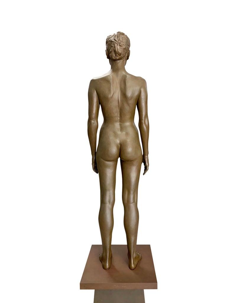 Large Robert Graham Bronze Figure on Pedestal For Sale 1