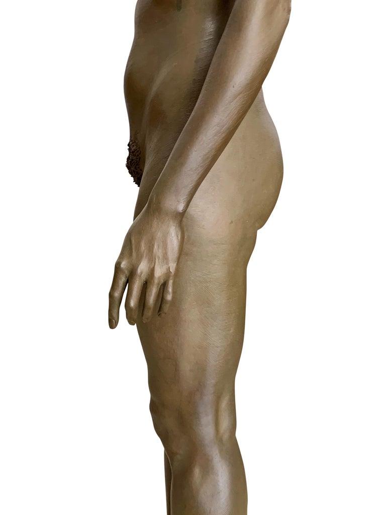 Large Robert Graham Bronze Figure on Pedestal For Sale 4