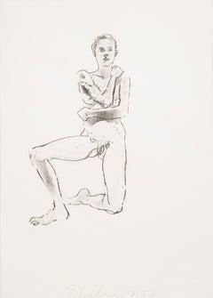 Figure Study (Kneeling) by Robert Graham